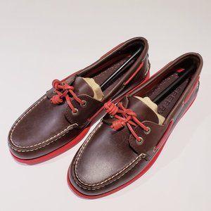 Sperry A/O Leather Boat Shoe US 9   UK 8   EU 42